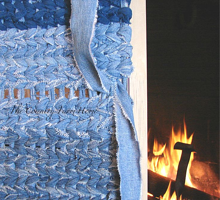 Rug Rag Loom: The Country Farm Home: Rag Rug Weaving Tutorial And Tips
