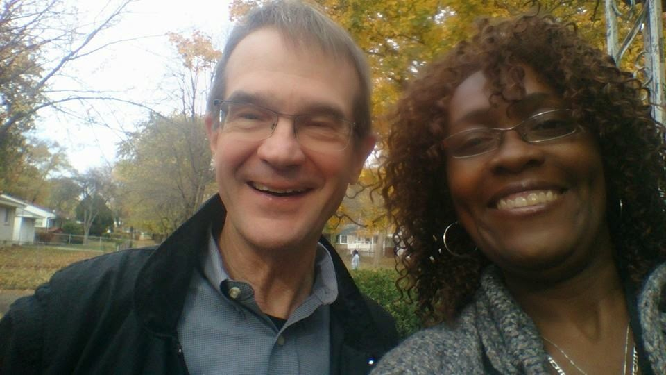 Photo Credit - ROJS Media, LLC IURL Host/Executive Producer Monica RW and Past President of the UAW Bob King