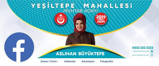 2019 Yerel Seçim Sosyal medya Aday Tanıtım örneği  Baskısı belediye başkan adayı, muhtar adayı