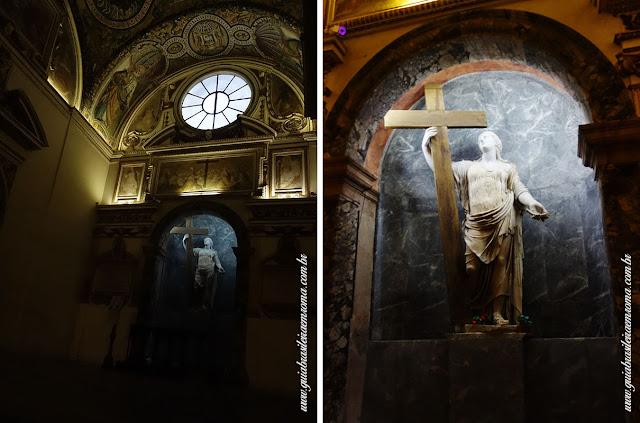 santa cruz jerusalem capela helena guia portugues roma - A basílica de Santa Cruz em Jerusalém