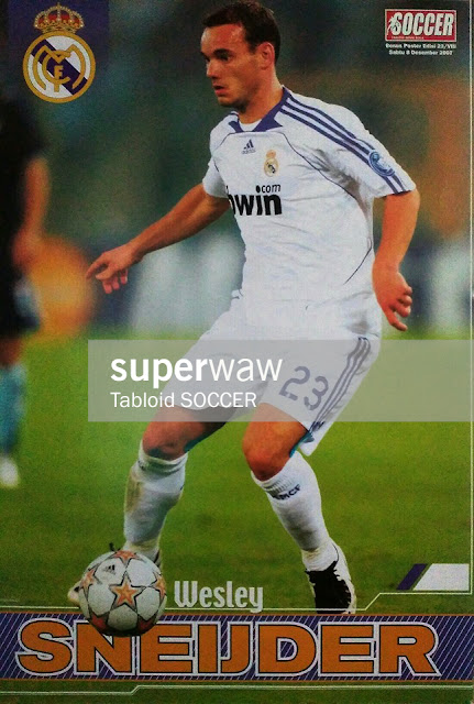 Wesley Sneijder Real Madrid 2007