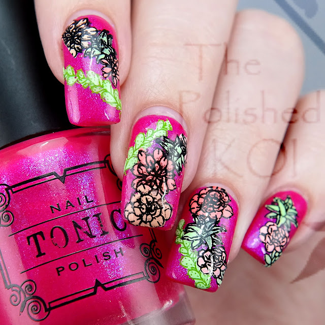 Tonic Polish Hot to Trot and Creative Shop 118