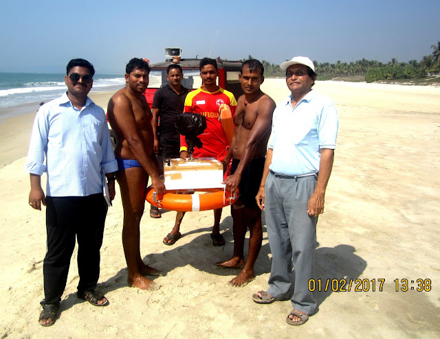 Drishti Lifesaving assists Indian Space Research Organisation (ISRO) to conduct a study on Rip currents along Goa's coast
