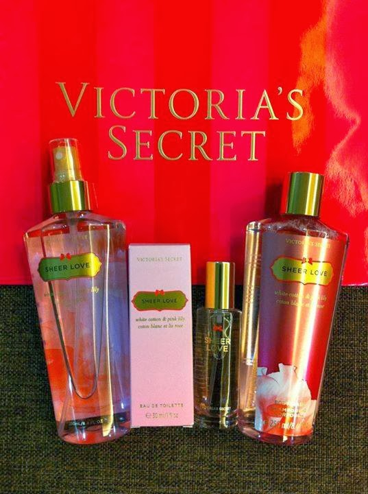13a5482f1e0 Victoria Secret Sheer Love Gift Set NORMAL PRICE  RM170 FREE  JEWELLERY BOX MARKDOWN  PRICE  RM95
