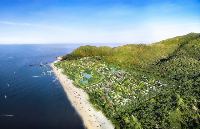 Phối cảnh Oceanami Luxury Homes and Resort