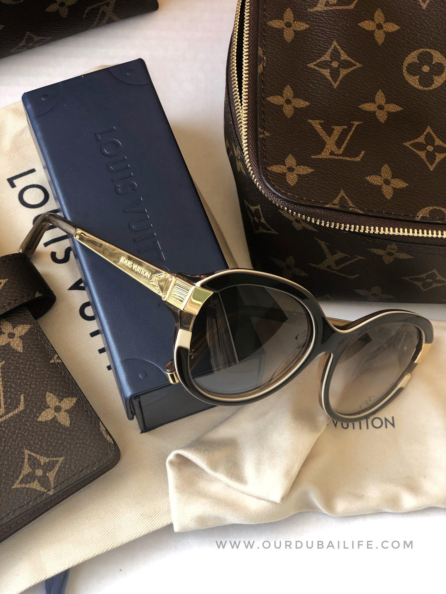 Louis Vuitton Petit Soupcon Cat Eye Sunglasses