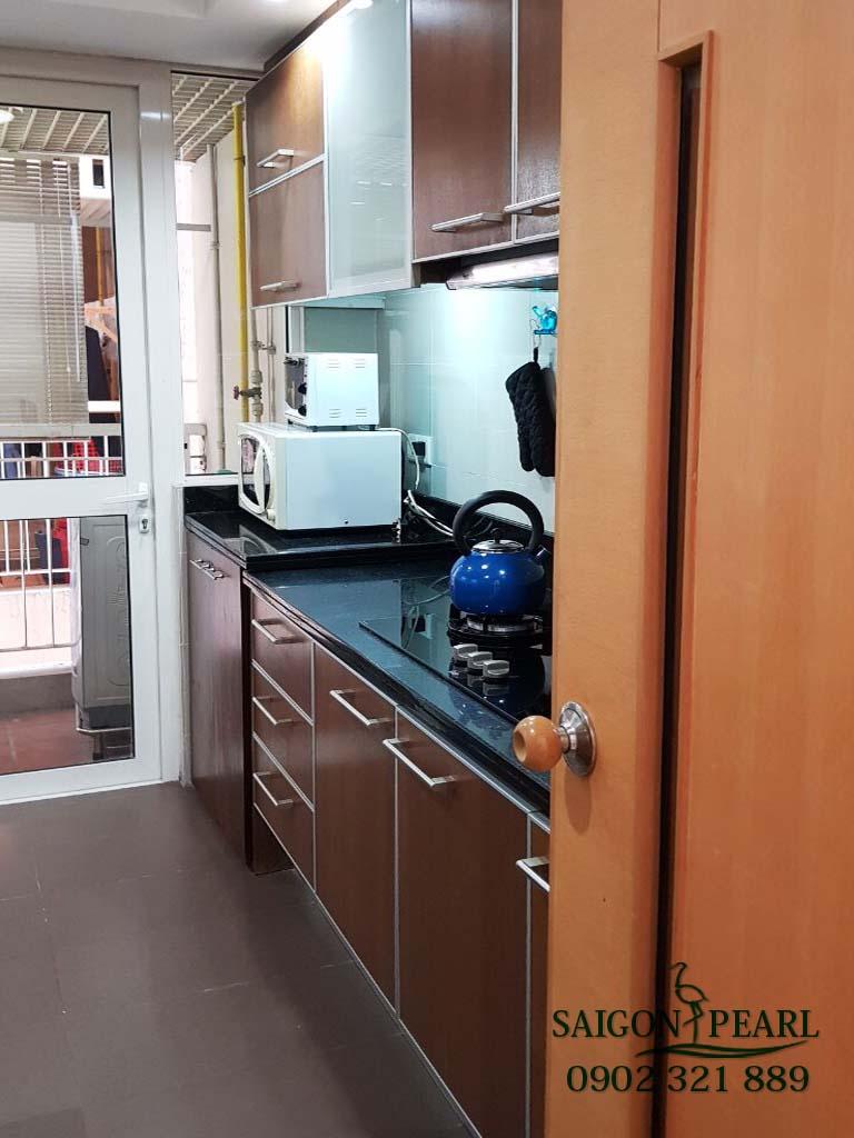 Topaz 1 Saigon Pearl cho thuê căn hộ 2 phòng ngủ - phòng bếp