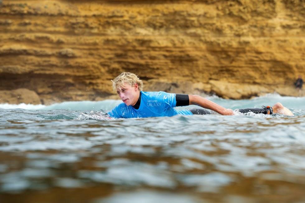 25 Rip Curl Pro Bells Beach 2015 Joe Van Dijk WSL Kelly Cestari