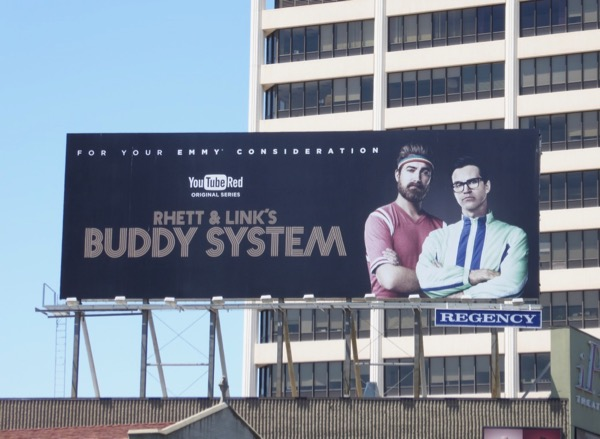 Rhett Links Buddy System 2017 Emmy FYC billboard
