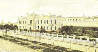 La Penitenciaría Nacional. Hoy Plaza Las Heras.