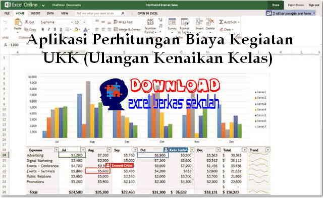Download Aplikasi Perhitungan Biaya Kegiatan UKK