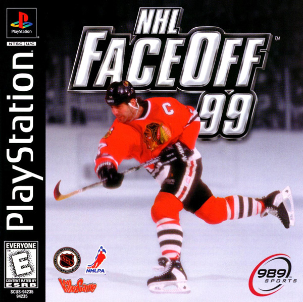 NHL Faceoff 99 - PS1 - ISOs Download