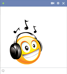 Groovy Facebook Sticker
