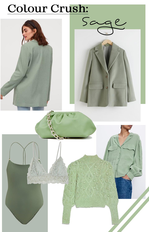 Fashion inspiration: sage green - Muoti, tyyli, kevät, vihreä