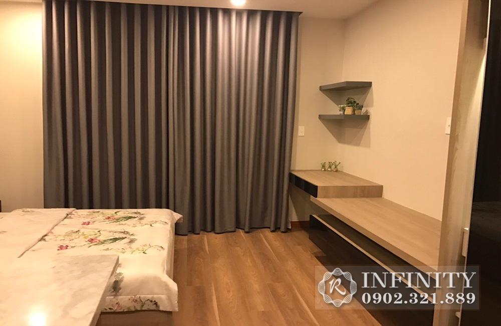 Căn hộ văn phòng cho thuê tại Everrich Infinity - view phòng ngủ