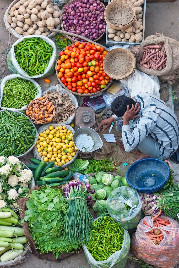 10 Best Backpacking Destinations in India | Vegetable seller in Pushkar, India