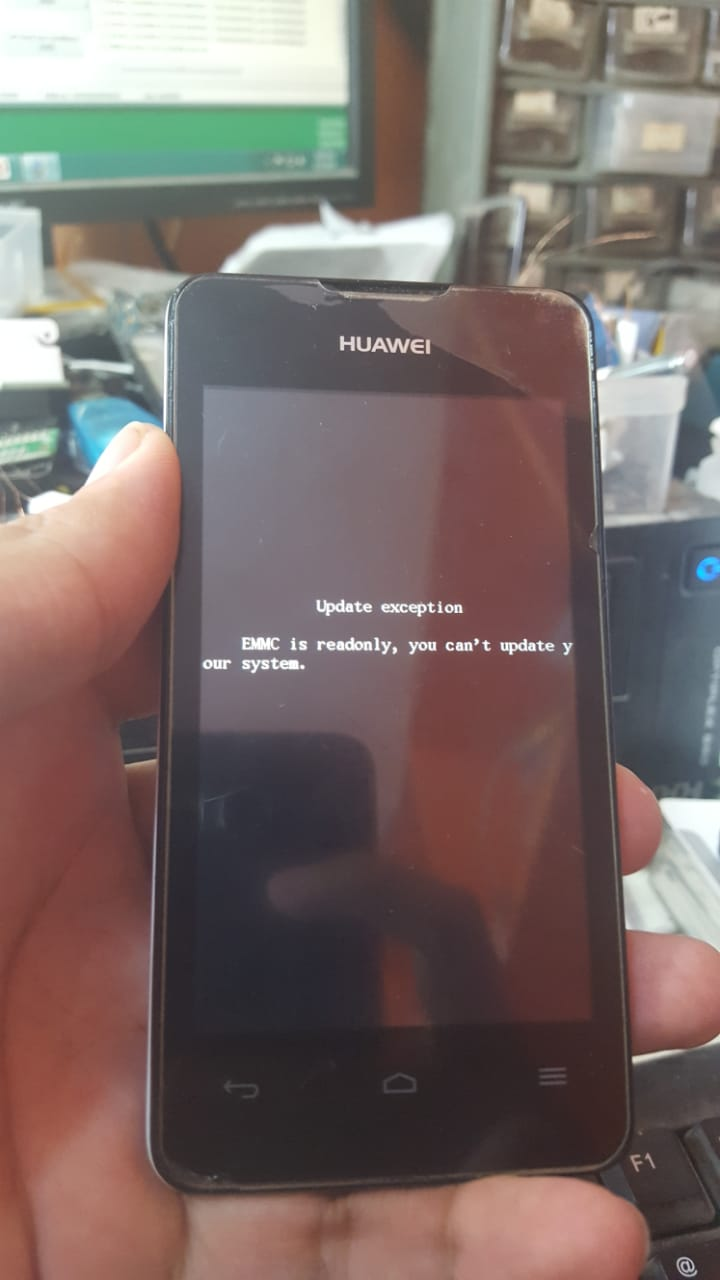 huawei Y300-0100 emmc read only done  (boot file and pinout inside