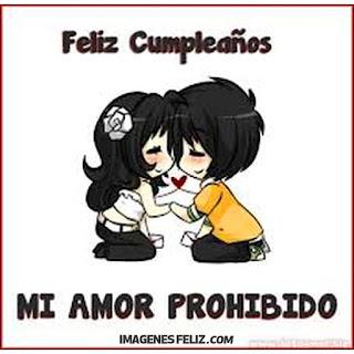 Feliz Cumpleaños mi Amor prohibido