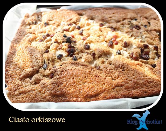 Ciasto orkiszowe na dużą blachę