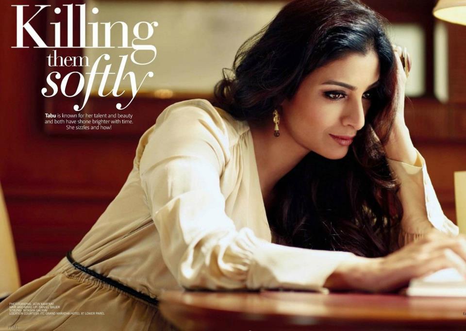 Actress Tabu Photo Shoot For Filmfare (February-2013