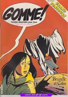Gomme!, numéro 6, 1982, Brunelle et Colin