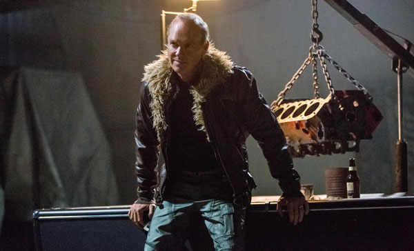 Michael Keaton as Adrian Toomes/Vulture in SPIDER-MAN: HOMECOMING (2017)