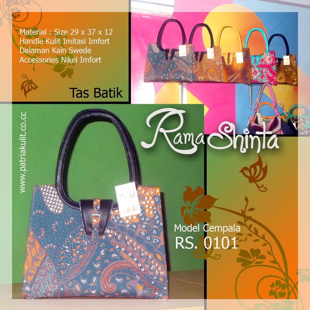 Ready Tas Batik Kombinasi Kulit Imitasi Harga Rp. 350.000 03e1c84387