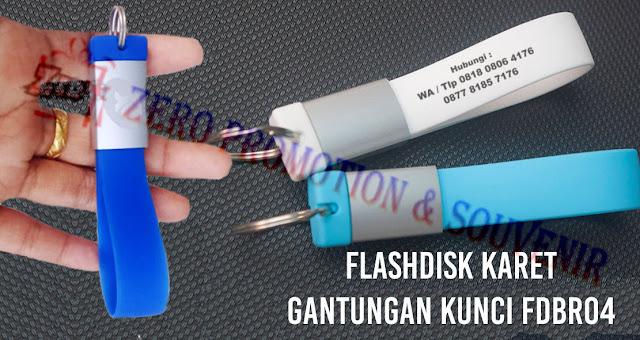 Jual Flashdisk Karet Gantungan Kunci - fdbr04 - USB Karet Gantungan Kunci