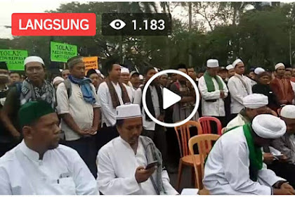 Belum Muncul di Tv, Ini Video Aksi Ribuan Umat Islam di Jakarta Siang Ini Tolak Perppu Ormas! MERINDING LIHATNYA...