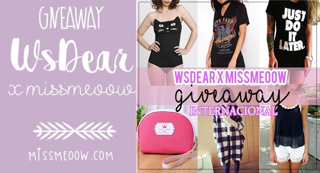 (Cerrado) WsDear Giveaway Internacional