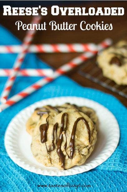 Reese's Overloaded Peanut Butter Cookies