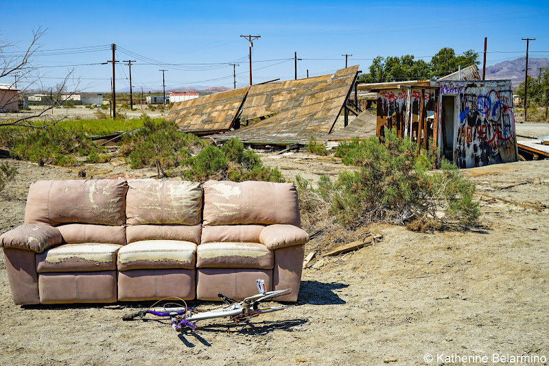 Salton Sea Beach Ghost Towns Photography