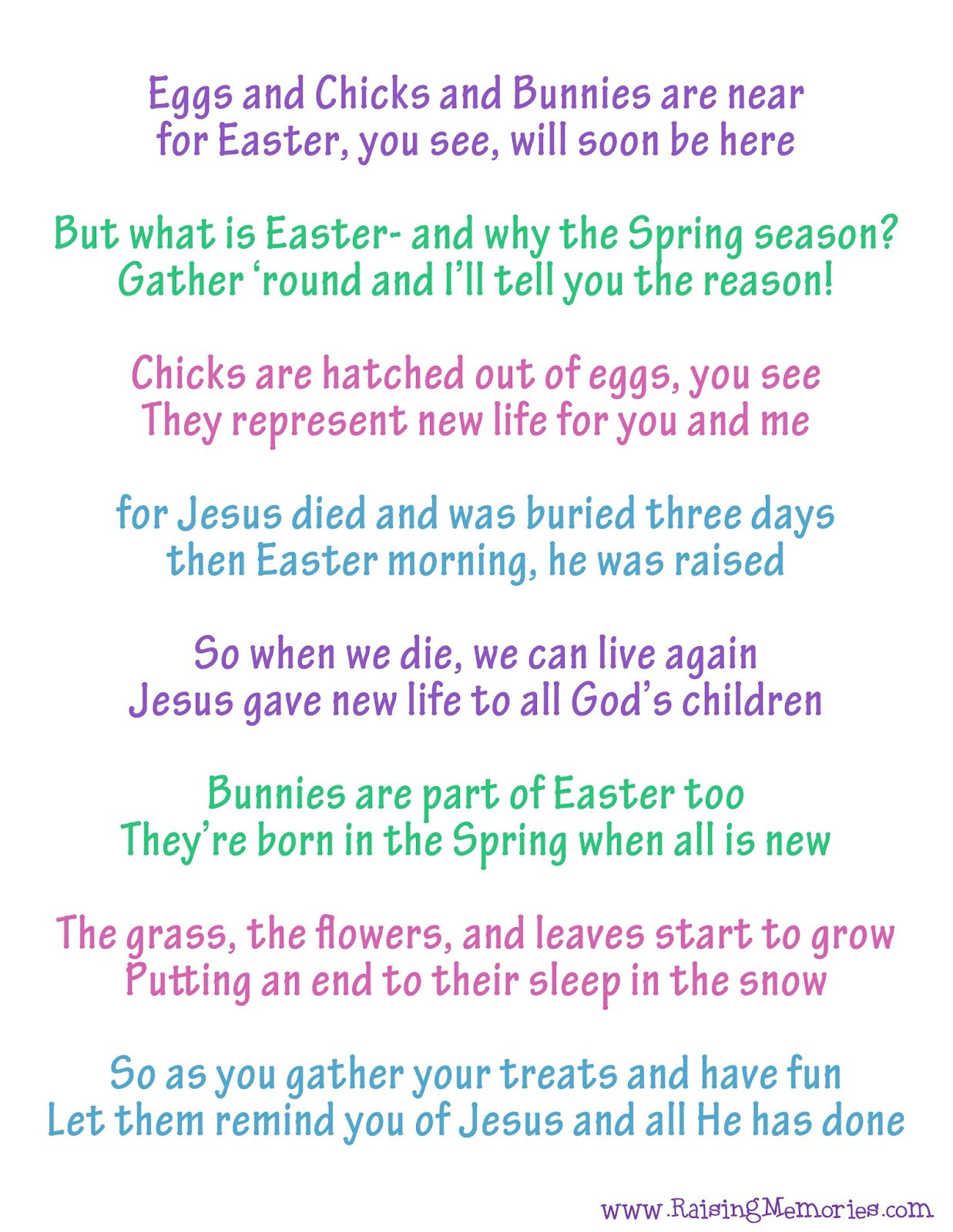 Raising Memories True Meaning Of Easter Poem Easter Symbols Something suggesting a poem (as in expressiveness, lyricism, or formal grace) the house we stayed in 15th century, in the meaning defined at sense 1. true meaning of easter poem easter