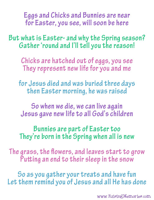 Poem about Meaning of Easter and Spring Symbols