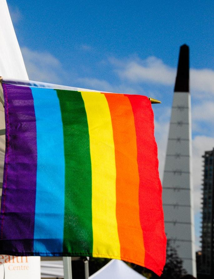 The History Of The Rainbow Flag