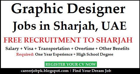 Graphic Designer Dubai Visa Provided Jobs