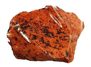 obsidiana roja mahogany | foro de minerales