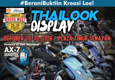 Punya Motor Thailook Style? Pajang di Jakarta Bikers Meet 2016!