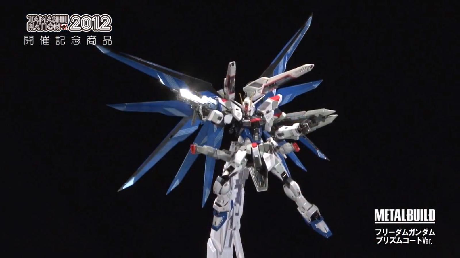 Metal Build Freedom Gundam Prism Coating