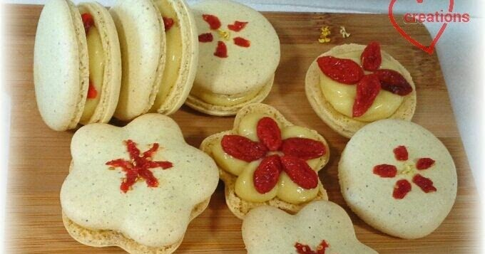 Loving Creations For You Osmanthus Macarons With