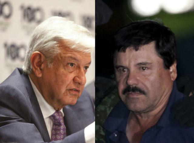 El Chapo y López Obrador
