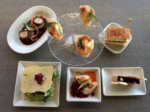 La Suite Lounge: Buffet degustation & live cooking
