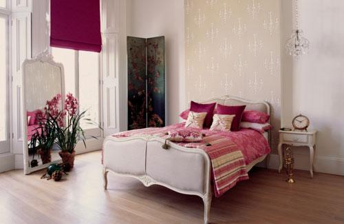 bedroom with bright curtains+Desain+Keren+Kamar+Tidur+Anak+Dengan+Warna+Putih,+Biru+dan+Coklat