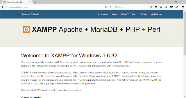 Cara Instal Xampp di Windows 7 | 8 | 8.1 | 10 | 10 Pro