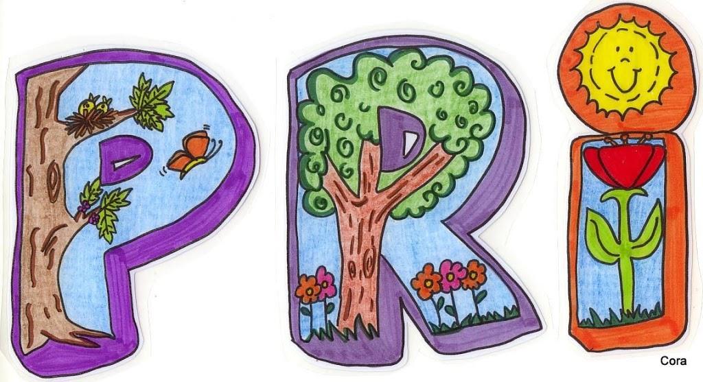 23 09 B 1 Atividades Preparatórias 2 Ofertas: Notícias Ponto Com : Letras Para Primavera Coloridas E