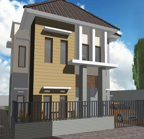 Desain Rumah Kecil Sederhana Terlihat Besar Minimalis