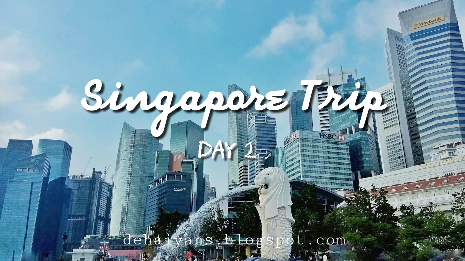 we woke up still with the fatigue from the first day lol the schedules for the second day was merlion park gardens by the bay and singapore flyer