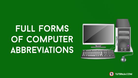 Computer Abbreviations