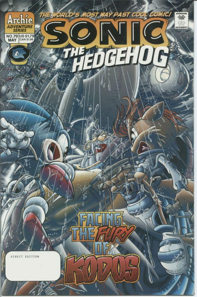 Read online Sonic The Hedgehog comic -  Issue #70 - 1