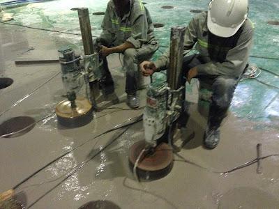 Khoan cắt bê tông tại phường Tăng Nhơn Phú A
